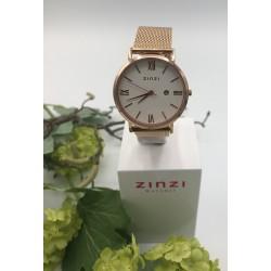 ZinZi Roman horloge met witte wijzerplaat ZIW 506M