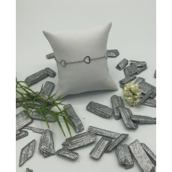 ZinZi zilveren armbandje met 3 open hartjes ZIA 1188