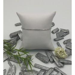 ZinZi zilveren staafjes armband met bolletjes ZIA 1452