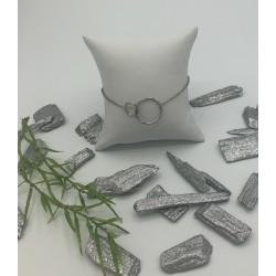 ZinZi Zilveren armband met Open Ronde Vormen ZIA 1278
