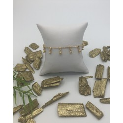 ZinZi Goldplated Bolletjes Armband ZIA 1985G