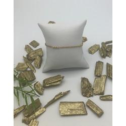 ZinZi Goldplated Armband met Bolletjes ZIA 1422G