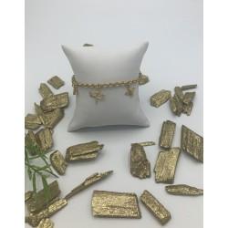 ZinZi Goldplated Arbamnd met Bijtkes, Vlinders, Libelle ZIA 1701G