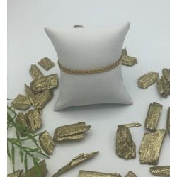 ZinZi Goldplated Armband Fantasie Schakel ZIA 878G