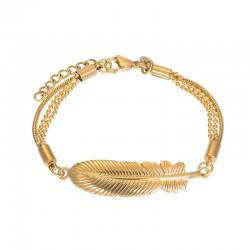 "IXXXI Armband ""Feather"" goud"