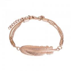 """IXXXI Armband """"Feather"""" Rosé"""