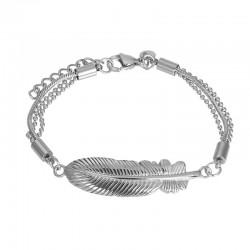 "IXXXI Armband ""Feather"" zilver"