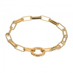 "IXXXI Armband ""Square Chain"" goud"