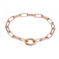 "IXXXI Armband ""Square Chain"" rosé"