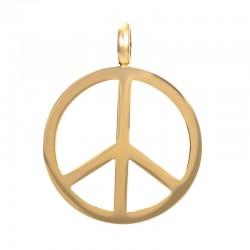 "Hanger ""Peace"" goud"