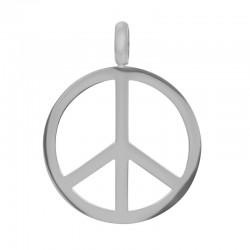 """Hanger """"Peace"""" zilver"""