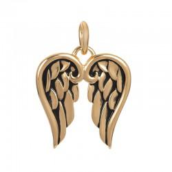 """Hanger """"Wings"""" goud"""