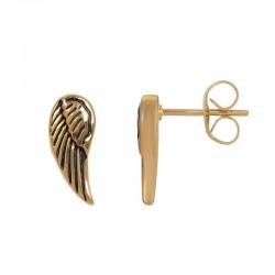"""Oorbellen """"Angel Wings"""" goud"""