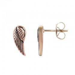 """Oorbellen """"Angel Wings"""" rosé"""