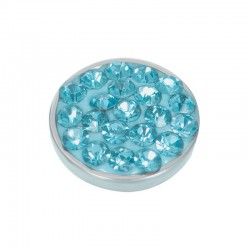 """Top part 7mm """"Turquoise Stone"""" zilver"""