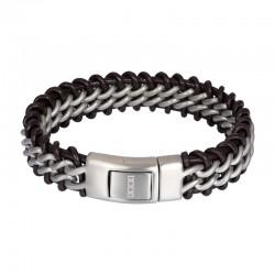 "IXXXI MEN armband ""Orion"" mat zilver"
