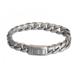 "IXXXI MEN armband ""Indonesia"" mat zilver"