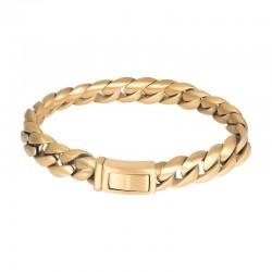 """IXXXI MEN armband """"Lombok"""" mat goud"""