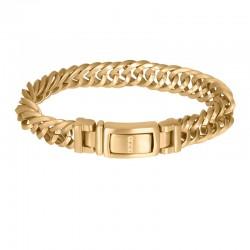 """IXXXI MEN armband """"Peru"""" mat goud"""