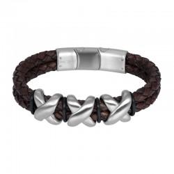 "IXXXI MEN armband ""Heaven"" mat zilver"