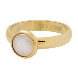 iXXXi vulring cat eye white goud 4mm