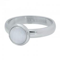 iXXXi vulring cat eye white zilver 4mm