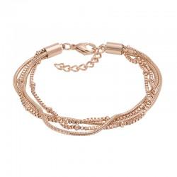 ixxxi armband slang en knoop rosé