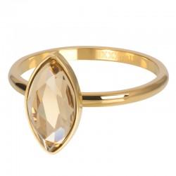 ixxxi vulring royal diamond topaz - goud 2mm